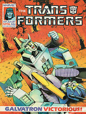 TRANSFORMES THE COMIC SERIES ISSUE NUMBER 116 FN/VFN