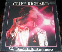 "Cliff Richard, We don't talk anymore, VG/VG++ 7"" Single 0870-1"