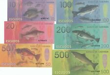 Cabinda set 6 banknotes 2013 UNC (private issue)