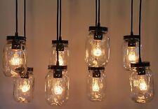 Vintage Bulb Type Bronze Hanging Kitchen Island Light Fixture Primitive