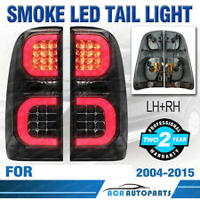 Smoked LED Tail Light Rear Lamp Fit For Toyota Hilux KUN26R SR SR5 Workmate