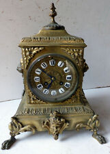 Ancienne PENDULE en bronze du XIXème SIECLE