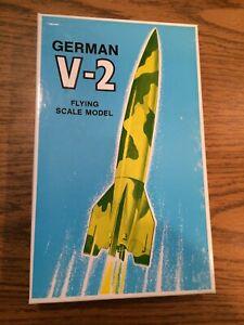 Vintage V-2 Model Rocket