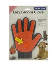 GROOMING MITT CAT AND DOG EASY GROOM GLOVE GOOD PREMIUM QUALITY - ALL FUR TYPES