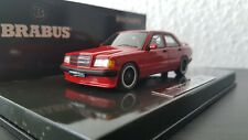 Rare! Minichamps Mercedes Brabus 190E 3.6 S 1989 red