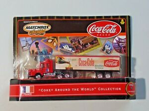 Matchbox Collectibles Coke Around The World France Scania Cab #5 NEW 14