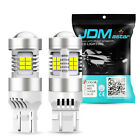 JDM ASTAR 7443 LED Back Up Reverse Light,Brake Bulbs Lamp,White 6000K HIgh Power