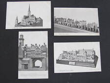 """The Builder"" Old London Series 4 Model Postcard size Giveaway cards"