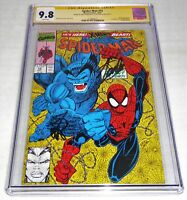 Spider-Man #15 CGC SS 9.8 Dual Signature 2x Autograph STAN LEE 1st Masterblaster
