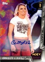 2018 Topps WWE Women's Division Autographs #35 Candice LeRae Auto /199