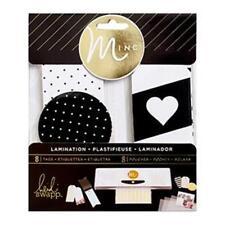 Heidi Swapp - Minc - Lamination Black Tags 313157