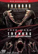 TREMORS 1 + 2 (Fred Ward, Helen Shaver) 2 DVDs NEU+OVP