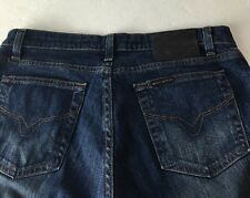 Harley Davidson Jeans Boot Cut Faded Stretch Sz 8 Petite Riding Motorcycle