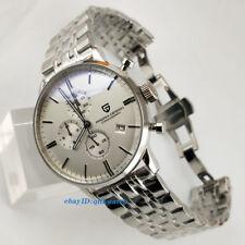43MM Pagani Design Stainless Functional Chronograph Japaness Quartz Men's Watch