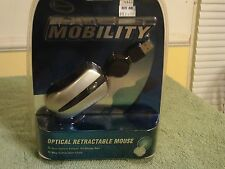 NEW iConcepts MOBILTY OPTICAL RETRACTABLE MOUSE 4D OPTICAL NIP