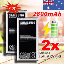 2X GENUINE OEM Samsung Galaxy S5 G900 i9600 Battery 12 Month Warranty 2800mAh