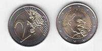 FRANCE BIMETAL 2 EURO UNC COIN 2016 YEAR FRANCOIS MITTERRAND