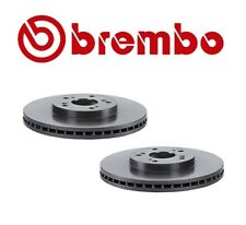 Set of 2 Brembo Front Disc Brake Rotors For Acura CL TL MDX Honda Acoord Pilot