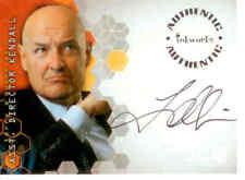 Alias Season 2  Trading Card Signature A18