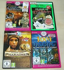 4 hormiguero PC juegos colección-maldición de la 1001 faraones noche SIMBAD youda