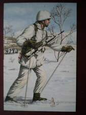 POSTCARD 2ND BN ROYAL REGIMENT OF FUSILIERS NORWAY 1991  ALIX BAKER