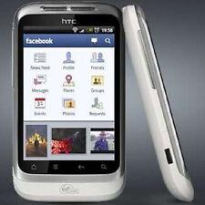HTC Wildfire S Bianco (Senza SIM-lock) Smartphone WLAN - 3g-gps Android-Whatsapp NUOVO