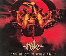 Annihilation of the Wicked [Digipak] by Nile (CD, May-2005, Relapse Records...