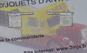 2 plaques arrières pour camions 1/50 (PA544)