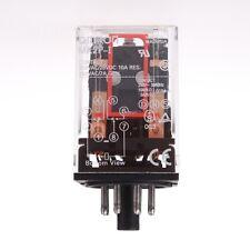 1set base + coil power relay MKS2P 8pin 2NO 2NC 10A(NO) 5A(NC) DPDT AC220V