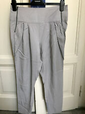 Pantaloni harem grigi TOPSHOP grey harem pants UK10 IT42 EU38