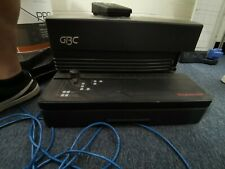 GBC Magnapunch - Industrial Paper Punch-Spiral/Metal/Comb Binding. Incld Binders