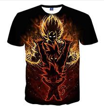 New Fashion Women/Men Dragon Ball Z GoKu 3D Print Casual T-Shirt JK1340