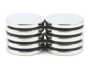 N52 25mm Schablone X 2mm Groß Scheiben Magneten DIY Mro Handwerk Klein Packungen