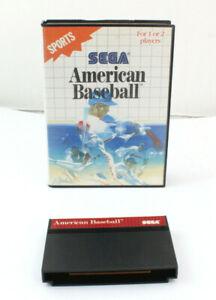 SEGA Master System American Baseball Videospiel 1989 Retro 9.5 2030 I7
