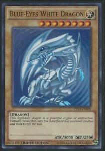Yugioh Card - Blue-Eyes White Dragon [SDK Art] *Ultra Rare* CT13-EN008 (NM)