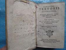 TIXIER DE RAVISY : DIALOGI ALIQUOT FESTIVISSIMI, EPIGRAMMATA, 1595.