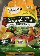 SOLABIOL CONCIME 100% BIOLOGICO NUTRE 4 MESI KG 5 X 100 MQ -38318-