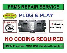 BMW  E Series, MINI Cooper R56 FRM3 Footwell Module Repair Service