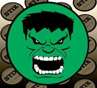 Hero Green Giant Hulk Logo Car Door Courtesy Projector Laser Ghost Shadow Light