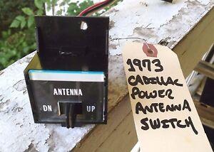 1971-73 Cadillac Power Antenna Switch *Tested & Works Great~!* Eldorado/DeVille+