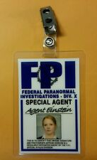 X-files TV Series ID Badge-Agent Einstein Miniseries costume prop cosplay