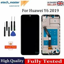 For Huawei Y6 2019 LCD Retina Replacement Touch Screen Digitizer +Frame Display