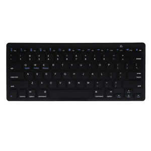 Wireless Bluetooth 3.0 Keyboard Slim For PC/Tablet + Adjustable Folding Stand UK