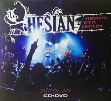 HESIAN - HEMEN ETA ORAIN (ZUZENEAN) Cd + Dvd Nuevo Precintado 5