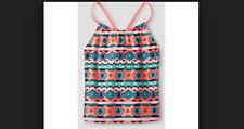 Xhilaration Coral Childrens Swimsuit Top (Size XS/ 4/5)