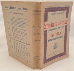 ANCONA PALERMO GIANGIACOMI STORIA DI ANCONA GUIDA ARTISTICO COMMERCIALE 1923