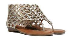 7ef29c684237b8 Zigi Soho Melaa Gladiator Gold/Tan Sandals with Rhinestones SZ- 8.5