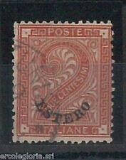 55547 - ITALIA :  LEVANTE Sassone 2 con annullo di TUNISI