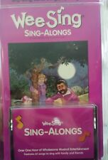 VTG SEALED WEESING SING ALONGS TAPE AND BOOK TRAVEL FAMILY RELIGIOUS WEE