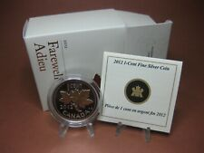 2012 $.01 Fine Silver Coin - Farewell to the Penny